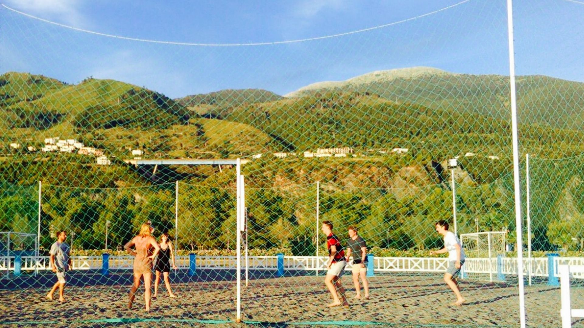 Beach Volley al Lido Elisa